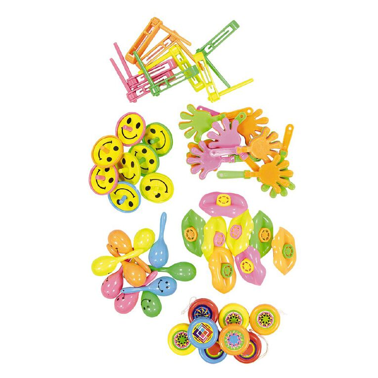 Party Inc Party Favours Large 50 Pack Assorted, , hi-res