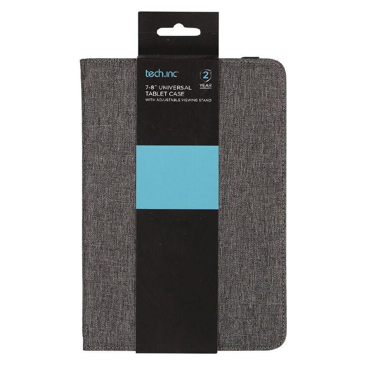 Tech.Inc 7-8 inch Tablet Case Grey, , hi-res