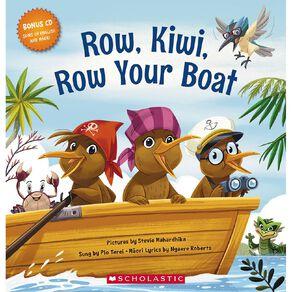 Row Kiwi Row Your Boat by Ngaere Roberts