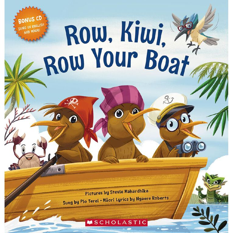 Row Kiwi Row Your Boat by Ngaere Roberts, , hi-res