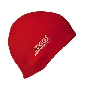 Zoggs Junior Delxue Stretch Swimming Cap Assorted