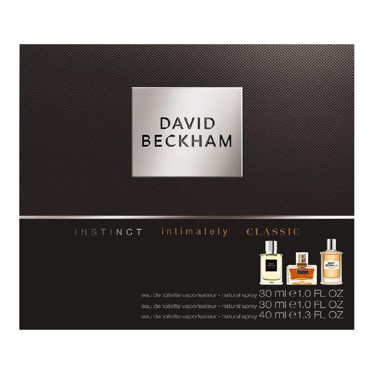 Beckham Signature Instinct Intimately Classic Set, , hi-res