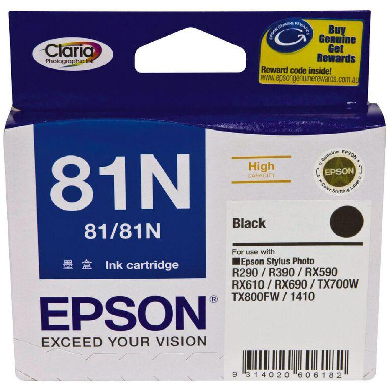 Epson Ink 81N Black (520 Pages), , hi-res