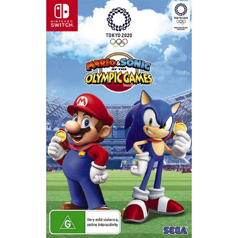 Nintendo Switch Mario & Sonic at the Olympic Games Tokyo 2020, , hi-res