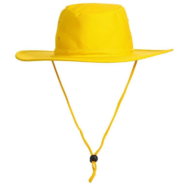 Schooltex Aussie Style Hat, Gold, hi-res