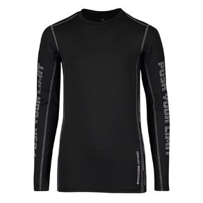 Active Intent Boys' Long Sleeve Compression Top