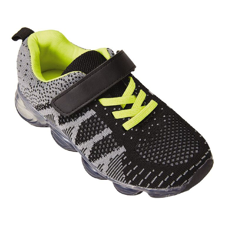 Active Intent Tavor Shoes, Black/Yellow, hi-res