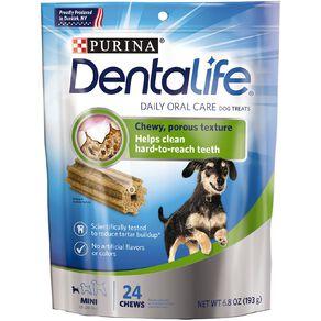 Purina Dentalife Dog Dental Snacks Mini 193g