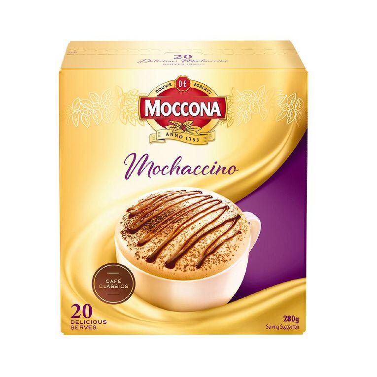 Moccona Coffee Cafe Classics Mochaccino 20 Sachets, , hi-res