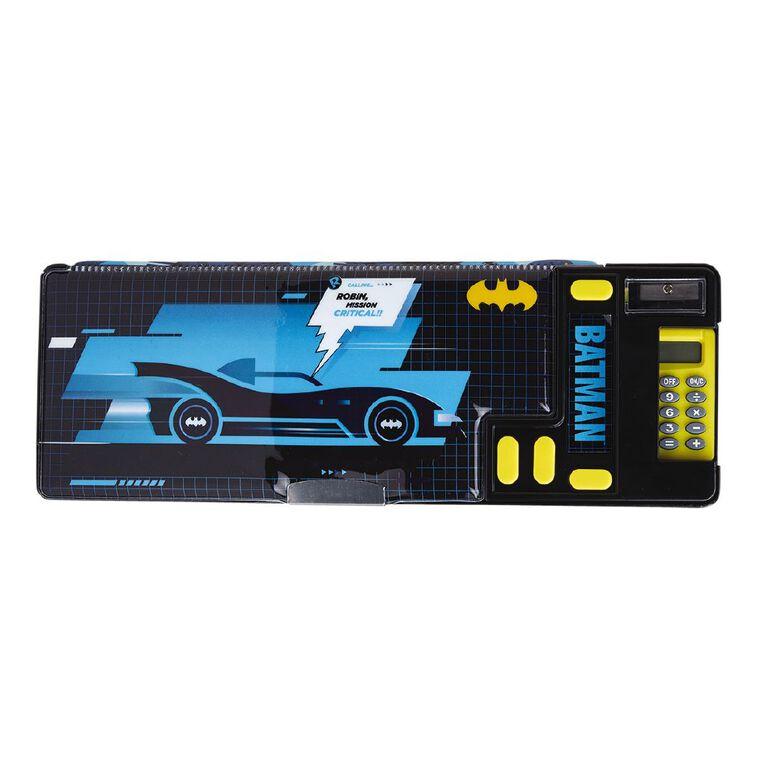 Batman Warner Bros Popout Pencil Case Blue Dark, , hi-res