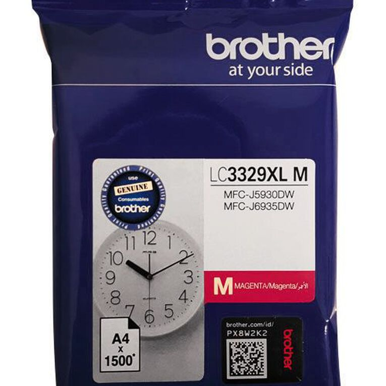 Brother Ink LC3329XLM Magenta (1500 Pages), , hi-res