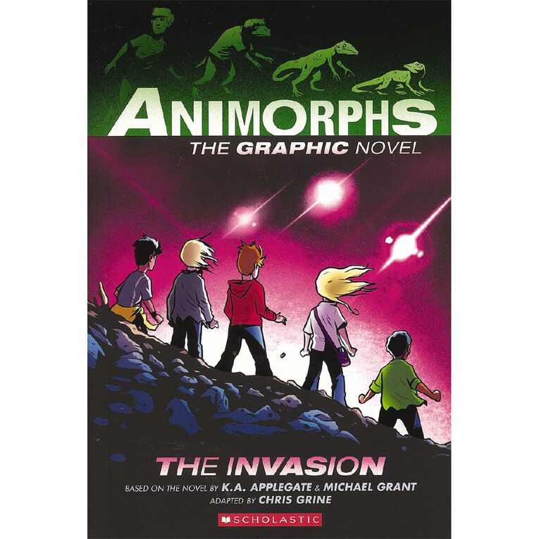 Animorphs Graphic Novel #1 The Invasion by KA Applegate, , hi-res