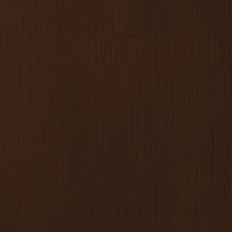 American Crafts Cardstock Textured Rocky Road 12in x 12in, , hi-res