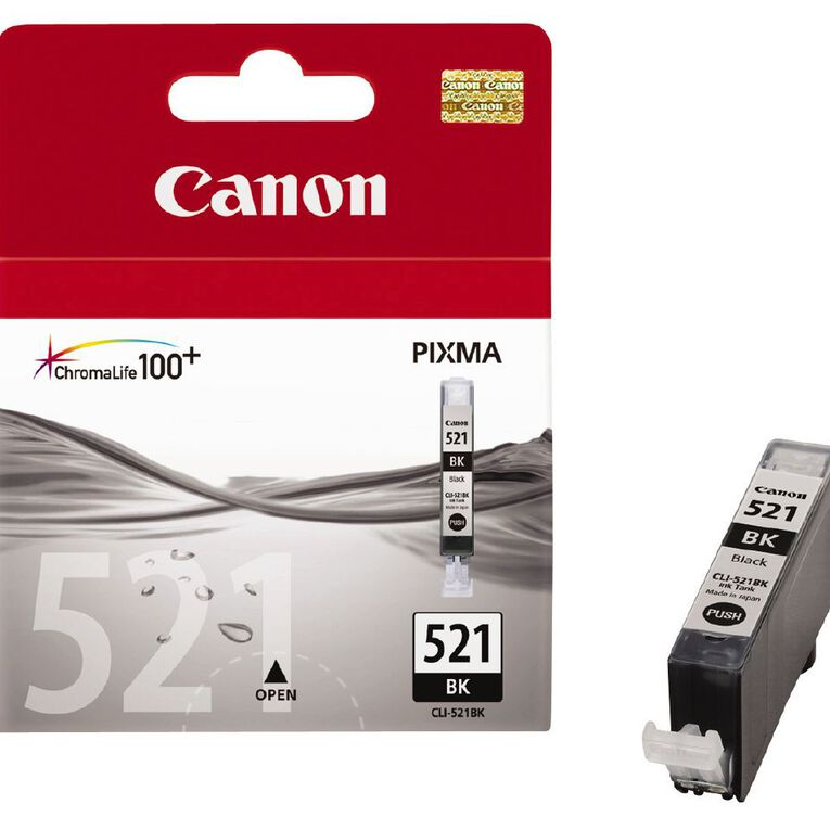 Canon Ink CLI521 Photo Black (500 Pages), , hi-res