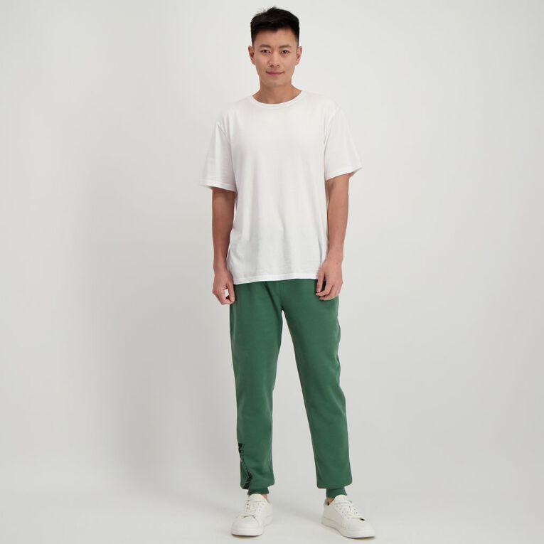 Garage Men's Fresh Trackpants, Khaki, hi-res