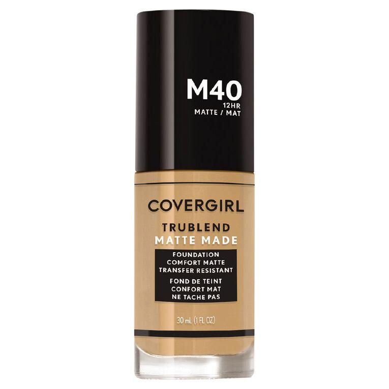 Covergirl TruBlend Matte M40 Warm Nude, , hi-res