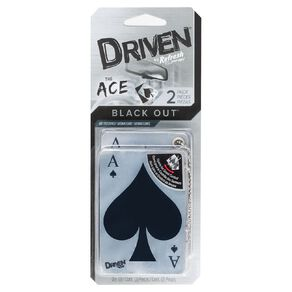 Refresh Your Car Driven Ace Auto Air Freshener Black Out 2 Pack