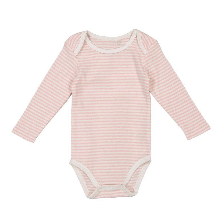 Young Original Baby Long Sleeve Bodysuit, White/BALLRN, hi-res