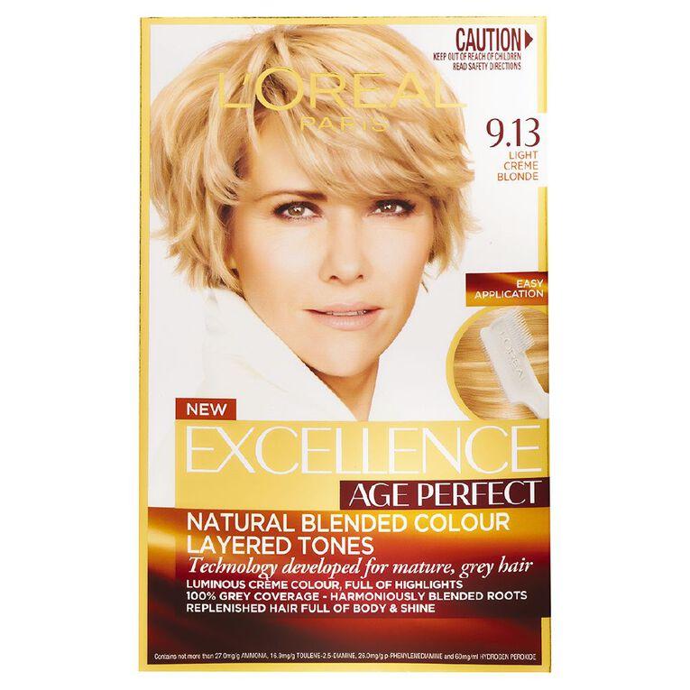 L'Oreal Paris Excellence Age Perfect Light Creme Blonde 9.13, , hi-res