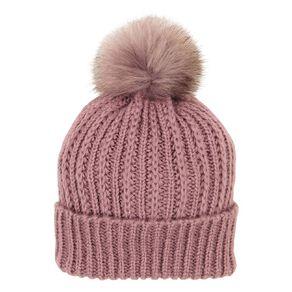 H&H Soft Knit Pom Beanie
