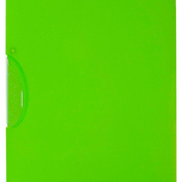 WS Swing Clip File Green A4, , hi-res