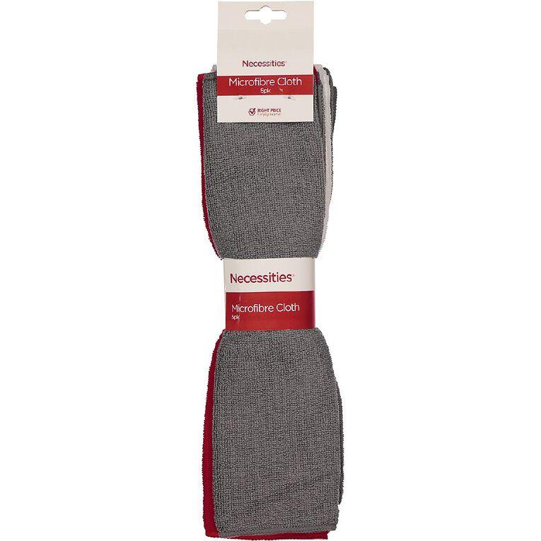 Living & Co Microfibre Cloth Assorted 5 Pack, , hi-res