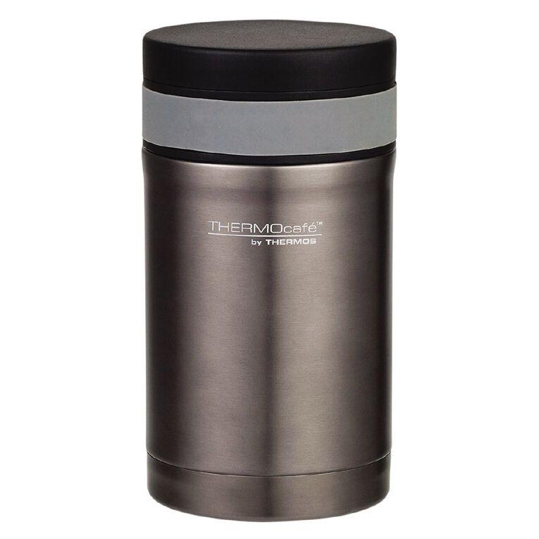 Thermos Insulated Vacuum Food Jar Black 500ml, , hi-res