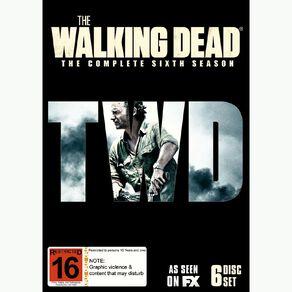 The Walking Dead Season 6 DVD 6Disc