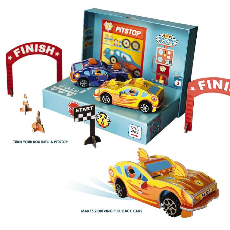 Totally Race Cars Build Your Own Pull Back Cars, , hi-res