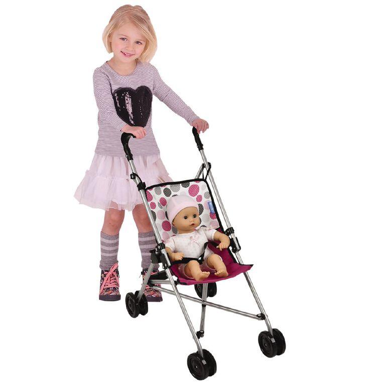 Hauck Doll Stroller Pink Dot, , hi-res