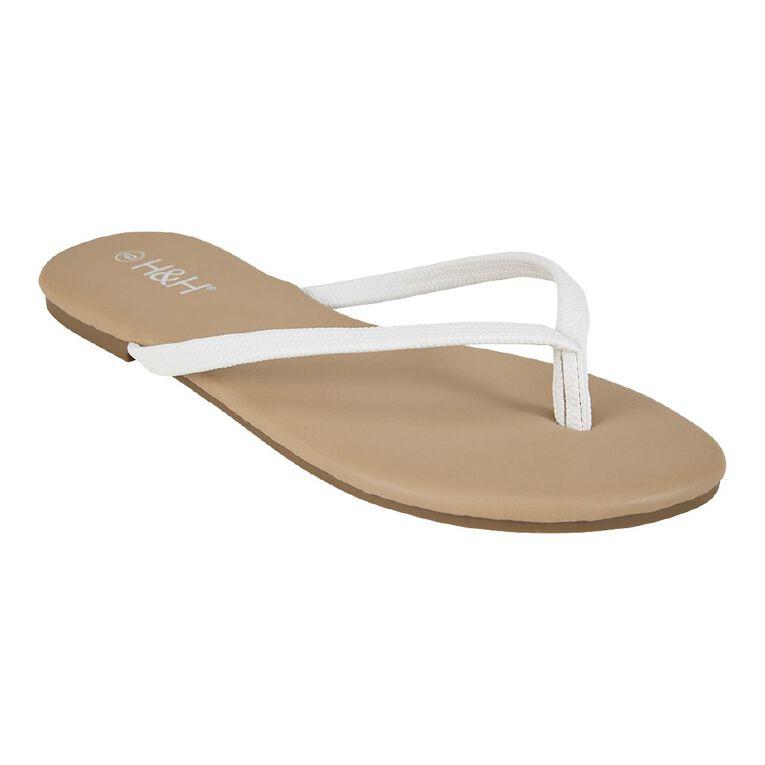 H&H Reims Sandals, White, hi-res