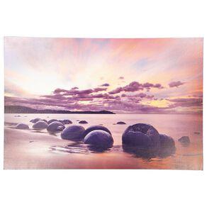 Living & Co Moeraki Boulders Canvas 60 x 90 x 1.8cm