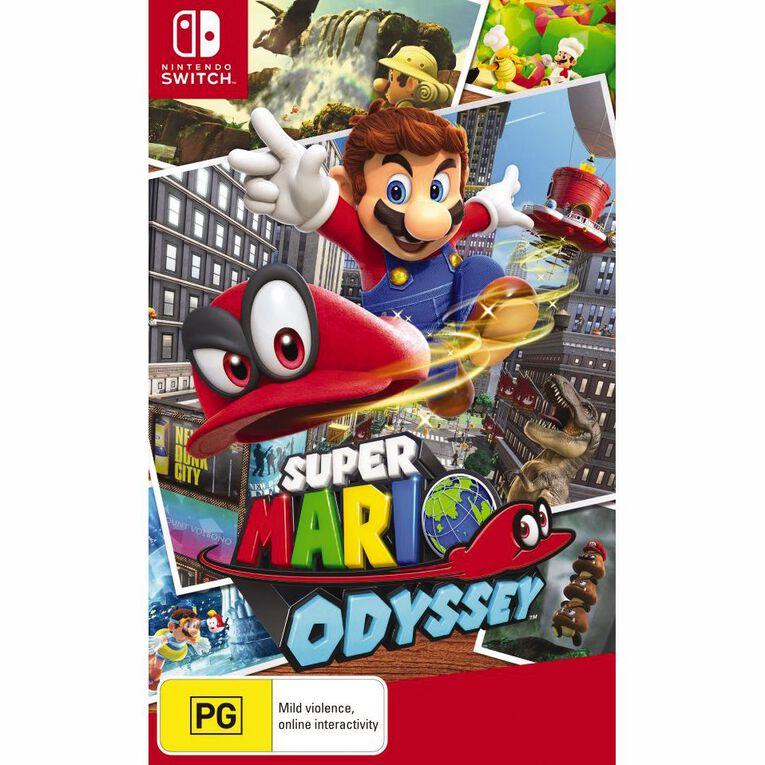 Nintendo Switch Super Mario Odyssey, , hi-res