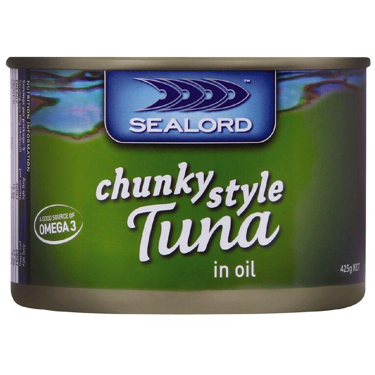 Sealord Tuna in Oil 425gm, , hi-res