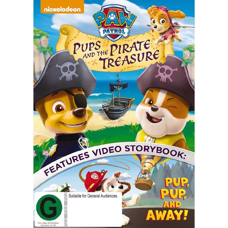 Paw Patrol Pups and the Pirate Treasure DVD 1Disc, , hi-res