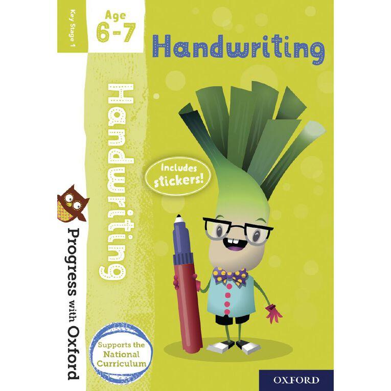 Handwriting Age 6-7 by Oxford University Press, , hi-res