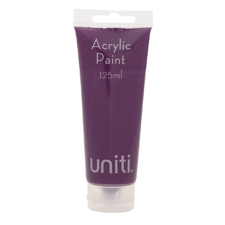 Uniti Acrylic Tube Purple 125ml, , hi-res