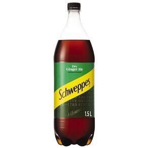 Schweppes Schweppes Ginger Ale 1.5 Litre 1 1/2L