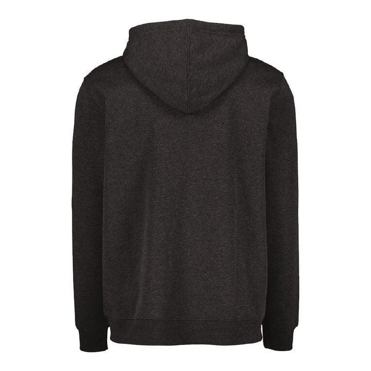 H&H Men's Zip Thru Hooded Sweatshirt, Charcoal, hi-res