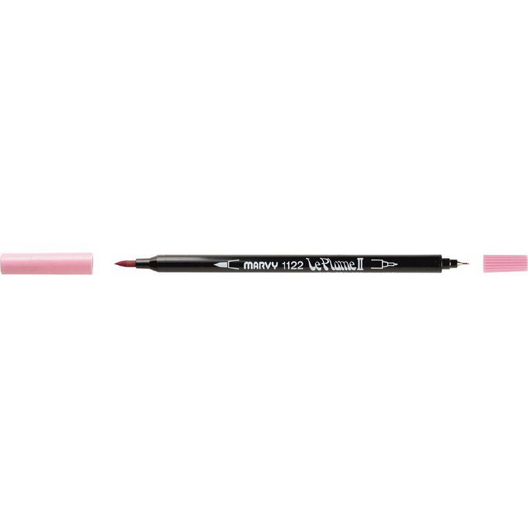 MARVY Le Plume II Dual Tip Marker Bubblegum Pink, , hi-res