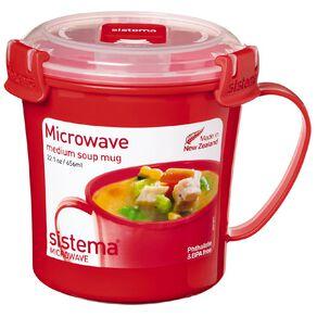 Sistema Klip It Microwave Soup Mug