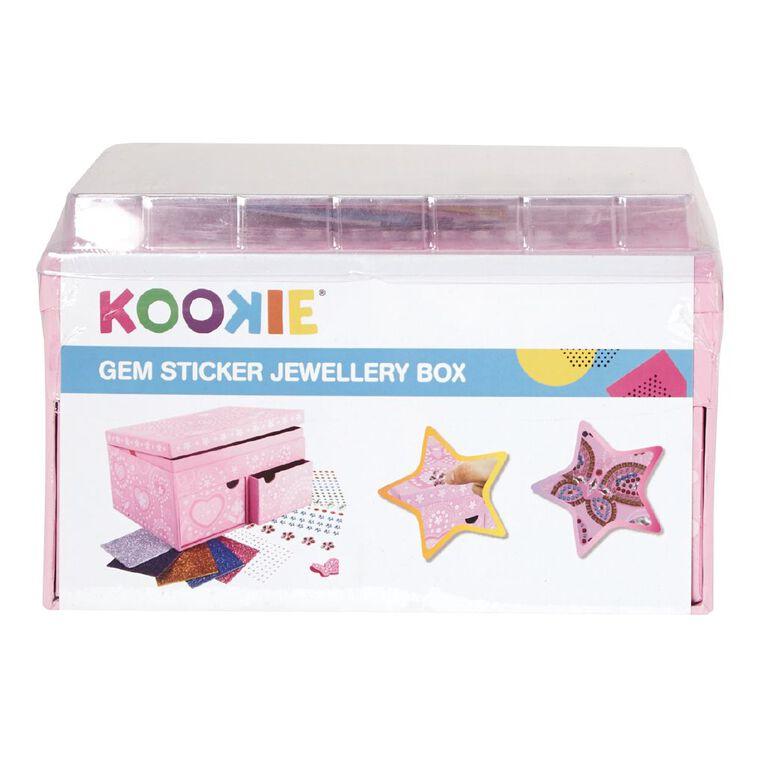 Kookie Gem Sticker Jewellery Box, , hi-res