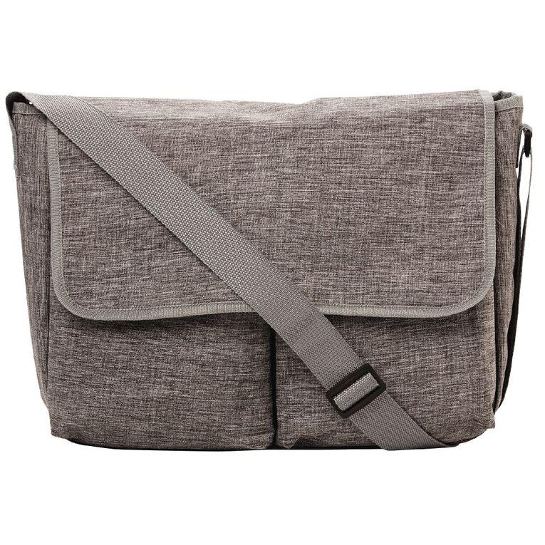 Babywise Messenger Nappy Bag Including Change Mat assorted, , hi-res