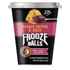 Frooze Balls Peanut Butter & Jelly 210g