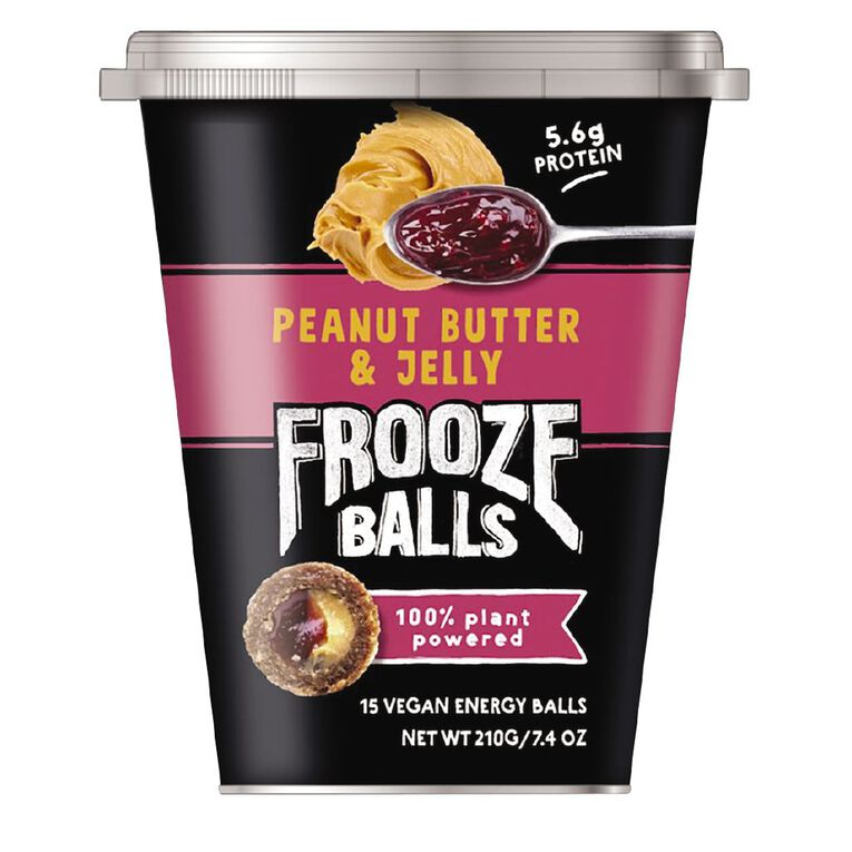 Frooze Balls Peanut Butter & Jelly 210g, , hi-res