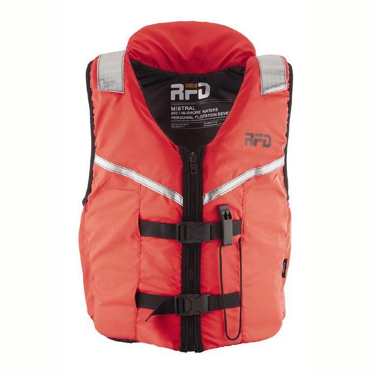 RFD Lifejacket Mistral Adult Medium Red Medium, , hi-res