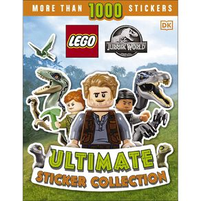 LEGO Jurassic World: Ultimate Sticker Collection by Julia March