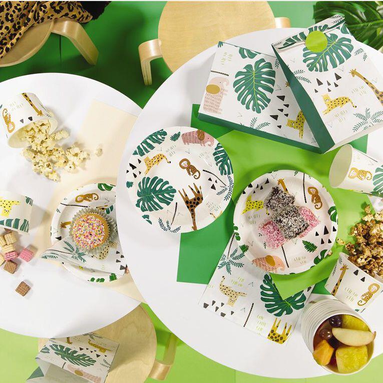 Party Inc Jungle Paper Bowls 250ml 8 Pack, , hi-res