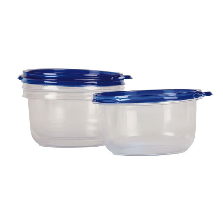 Snazzee Containers Round 739ml 3 Pack, , hi-res