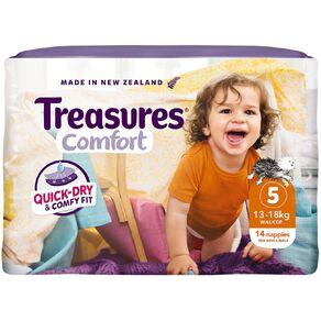 Treasures Standard Walker Nappies 14 Pack